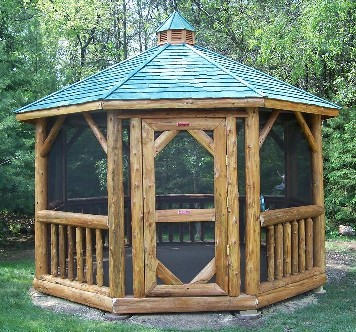 Log Gazebos